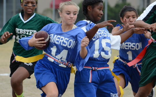 <p>Lady Panthers in action...on their way to a win!</p>